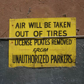 Air will be taken out of tires