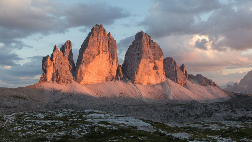 Tre Cime di Lavaredo, Tyrol, Italy